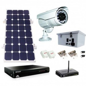 Sun-In-One™ Video Surveilance power Kits