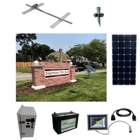 Solar Sign Lighting Kit 1
