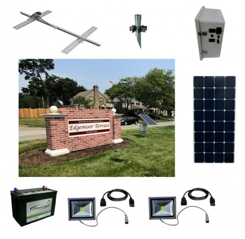 Solar Sign Lighting Kit 10