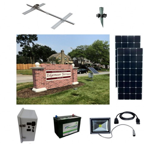 Solar Sign Lighting Kit 2