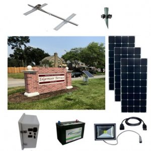 Sun-In-One™ Solar LED Sign Lighting Kits