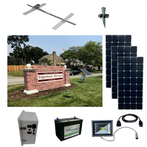 Solar Sign Lighting Kit 4