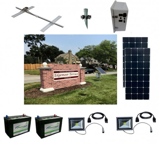 Solar Sign Lighting Kit 5