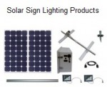 Solar Sign Lighting Products Kits