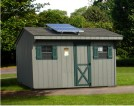 Solar Powered Shed Kits