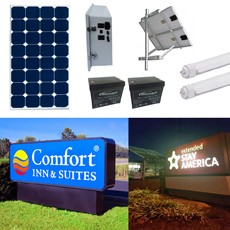 Solar Sign Lighting Kit 13