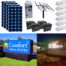 Solar Sign Lighting Kit 18
