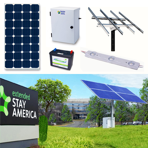 Solar Sign Lighting Kit Interior strip