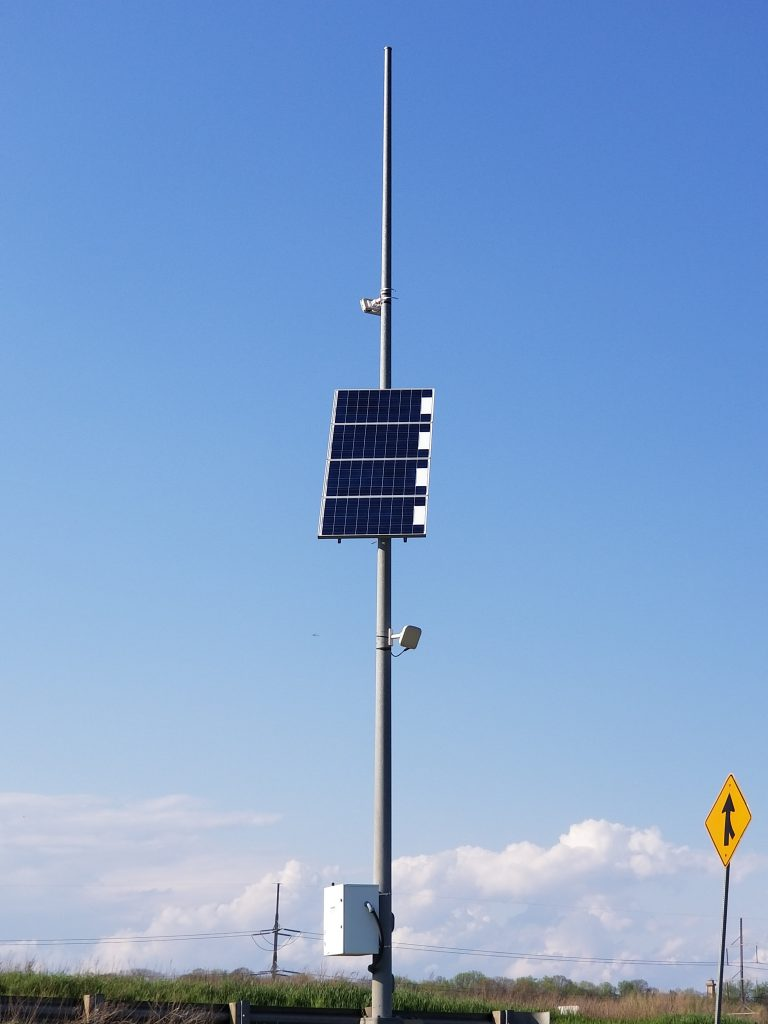 Solar Traffic Flow Light and System
